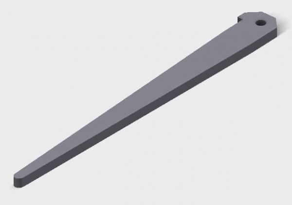 50mm Haltestift