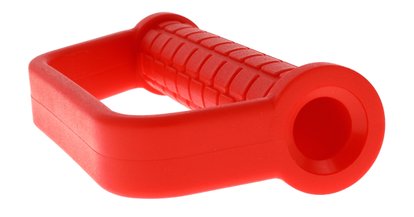 IGEL safety drive-in handle for road form pins